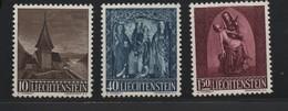 LIECHTENSTEIN N°319/321 * (charnière) - Liechtenstein