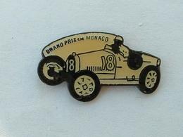PIN'S BUGATTI - GRAND PRIX DE MONACO - Pins