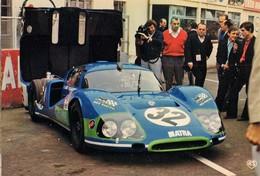 72 . LES 24 HEURES DU MANS . Une MATRA Devant Son Stand ARTAUD 27 - Le Mans