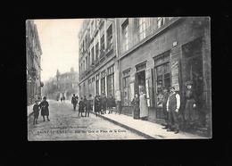 C.P.A. DE LA RUE DES GRIS A SAINT ETIENNE 42 - Saint Etienne