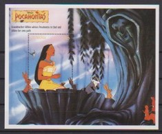2473  - GUYANA   Pocahontas  Grandmother Willow Advises Pocehontas To Find And Follow Her Own Path . . - Disney