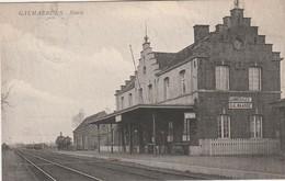 Galmaerden ,Galmaarden , ( Gammerages ) ,statie , Station , Intérieur Gare - Galmaarden