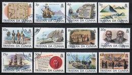Tristan Da Cunha 1983 Complete Set Of Stamps Commemorating Island History. - Tristan Da Cunha