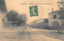 AIN  01  LOYETTES   QUARTIER DE LA POSTE. ROUTE DE MEXIMIEUX - Francia