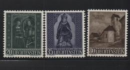 LIECHTENSTEIN N° 336/338 * (charnière) - Liechtenstein