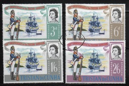 Tristan Da Cunha 1966 Complete Set Of Stamps Commemorating Tristan Garrison. - Tristan Da Cunha