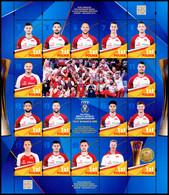 Poland 2018 Fi 4913-28 Mi 5063-78 Men's Volleyball World Cup Gold Medals Italy - Bulgaria 2018 - 1944-.... République