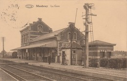 Maubray ,( Antoing ) ,La Gare ,(intérieur ,statie , Station ) - Antoing