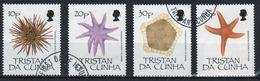 Tristan Da Cunha 1990 Complete Set Of Stamps Commemorating Echinoderms. - Tristan Da Cunha