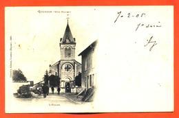 """CPA 52 Gourzon  """" L'église """" - France"""