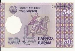 TADJIKISTAN 50 DRAM 1999 UNC P 13 - Tadjikistan