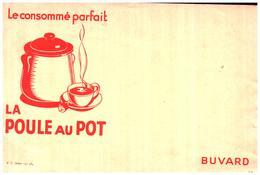 Po PP/Buvard Bouillon La Poule Au Pot (N= 3) - Potages & Sauces