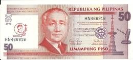 PHILIPPINES 50 PISO 2013 UNC P 217 - Philippines