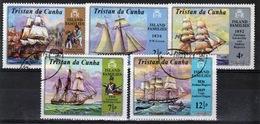 Tristan Da Cunha 1971 Complete Set Of Stamps Commemorating Island Families. - Tristan Da Cunha