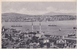 CARTOLINA - POSTCARD - TURCHIA - CONSTANTIOPLE VUE DE SOUTARIAU BOSPHORE - Turchia