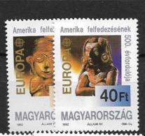 1992 MNH Cept Hungary - Europa-CEPT
