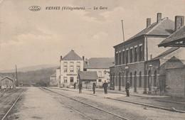 Vierves (Villégiature ), De Statie , La Station , ( Intérieur Gare ) - Viroinval
