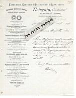 58 - Nièvre - CHAMPLEMY - Facture THEVENIN - Fabrique D'instruments D'agriculture - 1906 - REF 275 - Suisse