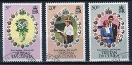 Tristan Da Cunha 1981 Complete Set Of Stamps Commemorating The Royal Wedding. - Tristan Da Cunha