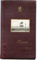 LYON - AGENDA PUBLICITAIRE  Du  GRAND  BAZAR  De  LYON  - 1923 -  Etat Neuf - Nombreuses Illustrations - Plaques Publicitaires