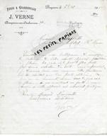 01 - Ain - DOMPIERRE-SUR-CHALARONNE- Facture VERNE - Forge Et Charronnage - 1910 - REF 275 - Suisse
