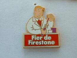 PIN'S FIER DE FIRESTONE - ZAMAC - Badges