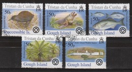 Tristan Da Cunha 2005 Complete Set Of Stamps Commemorating Islands 2nd Series (Gough). - Tristan Da Cunha