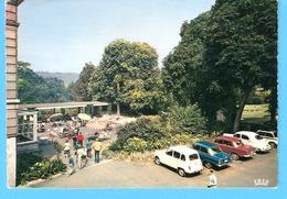 Anseremme (Dinant)-1968-Pont-à-Lesse-Castel Des Syndicats-Terrasse-vintage Cars-Renault 4L-Ford Anglia?-NSU.... - Dinant