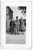 EMPTINNE (5363 ) Photo ( 13,5 X 9 Cm ) Avec Grand Père Devant La Grange - Hamois