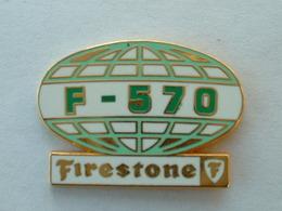PIN'S FIRESTONE - F 570 - ZAMAC - Pins