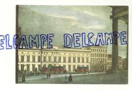 Bruxelles. Brussel. Dessin De L'Hôtel Des Postes. Het Posthotel. NELS. Edit. Thill - Poste & Facteurs