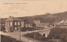 Le Roux Lez Fosse , La Gare D'Aisemont ,( Station , Statie, Fosses-la-Ville ) Publicité Bière FORST Wielemans - Fosses-la-Ville