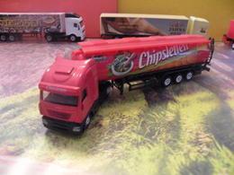 Camion Citerne Iveco - Chipsletten - 1/87 -  Sans Boite - Voitures, Camions, Bus