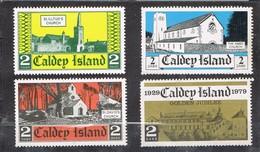 31382. Complet Shet CALDEY Island, LOCAL Post, Label, Cinderella, Viñeta 1979 ** - Wales
