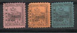 Turquía. 1867. Correo Local - Nuevos