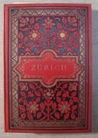 Album Souvenir 20 Albumen Photos ZURICH Photographies Ca1890 Ausgabe Römmler & Jonas - Photos