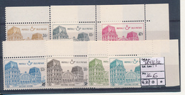 BELGIUM BELGIQUE COB TR416/422 MNH - Chemins De Fer