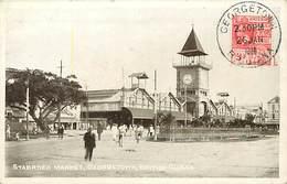 Pays Div -ref P544- British Guiana -guyane Britannique -stabroek Market - Georgetown , British Guiana - - Postkaarten