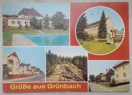 Grünbach In Sachsen (Kr. Auerbach) - DDR - Staatlich Anerkannter Erholungsort  VG  G2 - Auerbach (Vogtland)