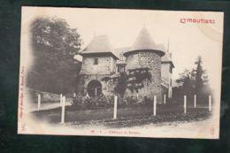 CPA (87) Eymoutiers -  Château De Beaune - Eymoutiers