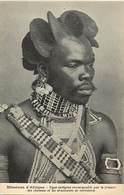 Pays Div -ref P542- Missions - D Afrique - Ethnologie - Africain Remarquable Par La Frisure Des Cheveux   - - Missions