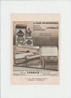 PUB - LABORATOIRE EMILE LOGEAIS  - BOULOGNE SUR MER - IMP OBVP A SCHAEBEEK - Publicité