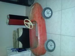 Ancienne Voiture à Pedales Pour Enfants  MG  BABY COURSE - Antikspielzeug