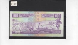 B28 - BURUNDI Billet De 100 Francs 01.12.1997 - Burundi
