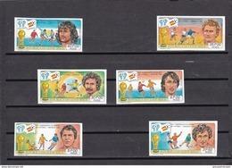 Guinea Bissau Nº Michel 581B Al 586B SIN DENTAR - 1982 – Espagne