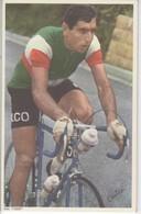 GUIDO  CARLESI    PHOTO L EQUIPE  FORMAT 11.2 X  17.5  CMS - Cyclisme