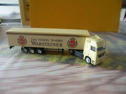 Camion Mercedes Astros - Bière Warsteiner - 1/87  Sans Boite - Voitures, Camions, Bus