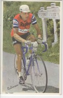 ROBINSON    PHOTO L EQUIPE  FORMAT 11.2 X  17.5  CMS - Cyclisme
