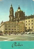 Praha (Rep. Ceca) View Of St. Nicholas' Church, Vue De L'Eglise St. Nicolas, Chiesa Di San Nicola - Repubblica Ceca