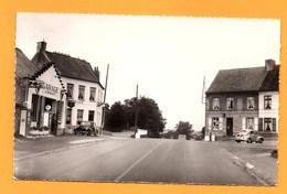 """Carte Postale En Noir Et Blanc  """" Place Du Haut Mont """" à MOULLE - France"""